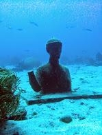 buste Cousteau